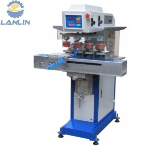 4 Color Shuttle Ink Cup Pad Printer