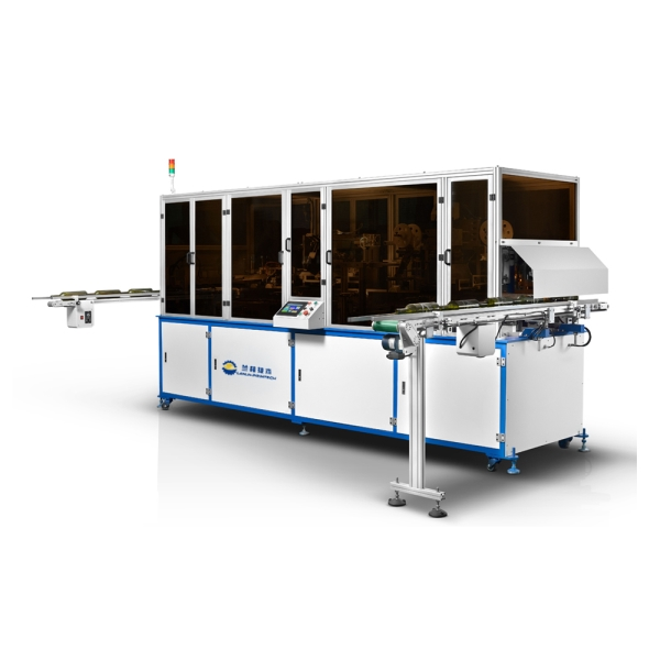LP-F280 Fully Automatic Chain-Type Screen Printing And Hot Stamping Machine For Glass And Plastic Object Featured Image
