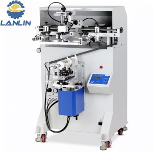 S-2Vanhu 3A Semi Automatic Bottle Container Tube chirongo Silk Screen Printing Machine