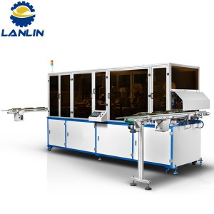 A280 Fully bide Chain-Type Screen Printing Û Machine Hot Stamping Ji bo Glass Û Object Plastic
