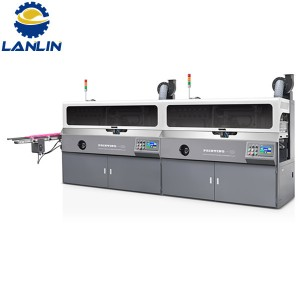 A102 Fully Automatic Multi Color Screen Printing Machine
