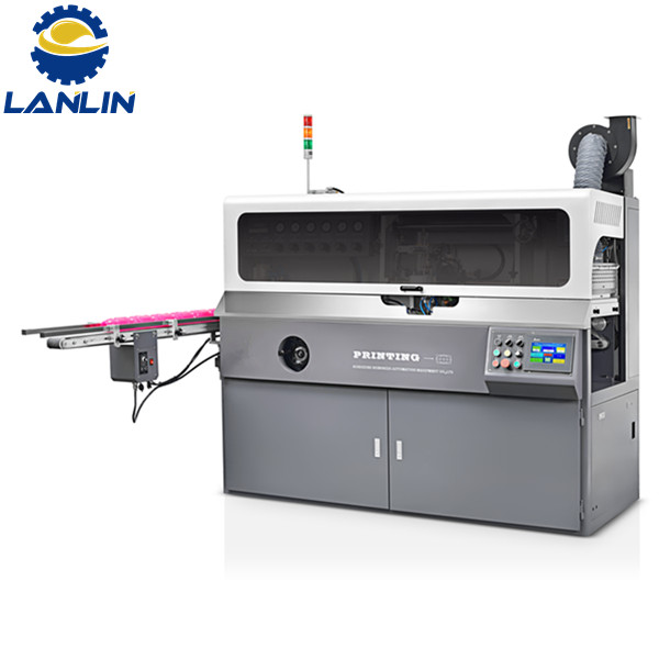 A102 Ofụri Esịt Automatic Multi Agba Screen Printing Machine Apụta Image