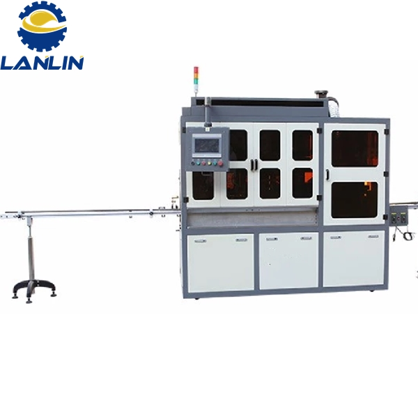 Auto screen printing machine for all shapes without register hole Featured Image