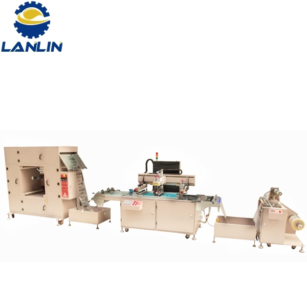 LL-CNC4070 High-Precision CNC Automatic Roll To Roll Paper Sticker Foil Screen Printing Machine Featured Image