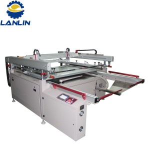 Four-Post Semi-automatic Screen Printing Machine