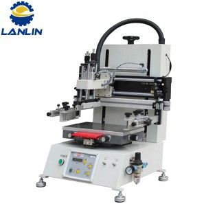 LP -2030T Manual Semi Auto Tabletop Flat Screen Printing Machine for Promotion Product