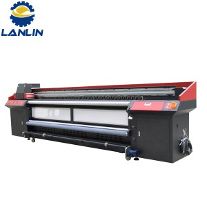 Quality Inspection for Auto Nonwoven Fabric Screen Printing Machine – LL-3200G Roll to roll series flat UV printer – Lanlin Printech
