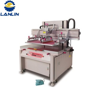 Motor çolistanan Screen Bed Flat Printing Machines