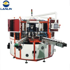 A320 Fully Automatic CNC dzinodzorwa 3 Color Universal Screen Printing Machine