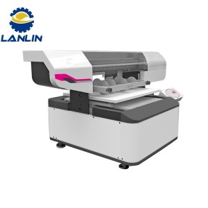 LL-UV0406 UV Flatbed Printer for Round and Flat Part