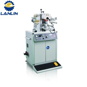 S01-G Semi Auto Hot stamping Machine Domin sababbu Shape Cap